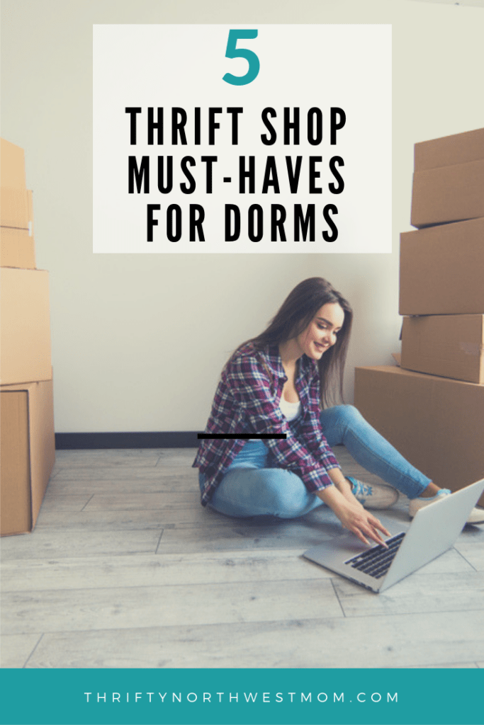 5 Items to Look for at Thrift Stores for Dorm Decor