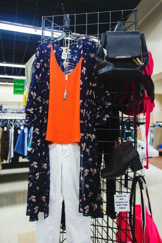 Boho look at Goodwill