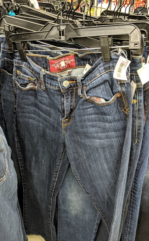 Lucky Jeans at Goodwill