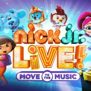 Nick Jr Live Discount Tickets