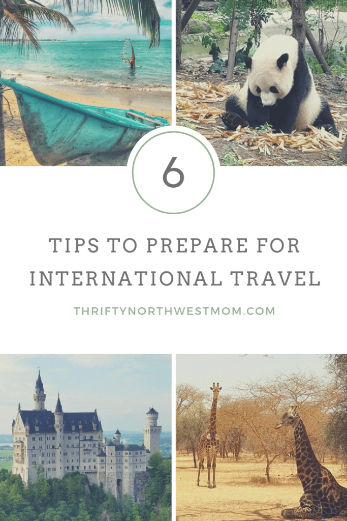 6 Tips to Prepare for International Travel!