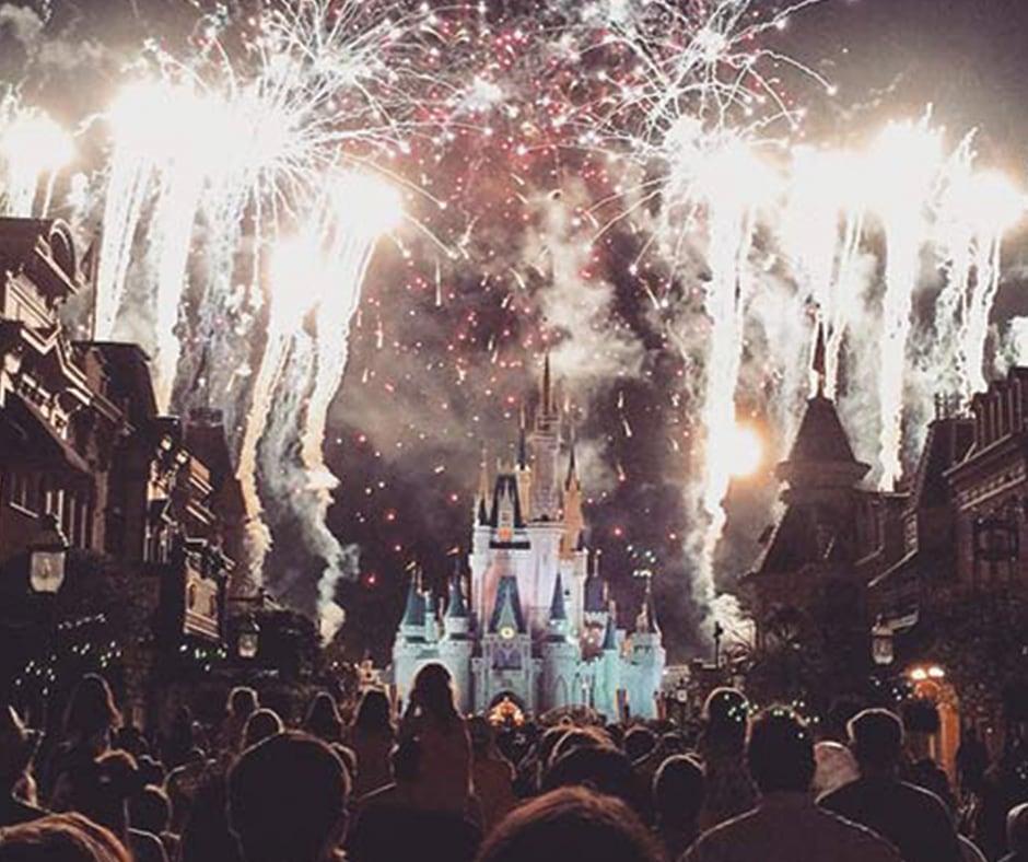 Fireworks at Walt Disney World Magic Kingdom
