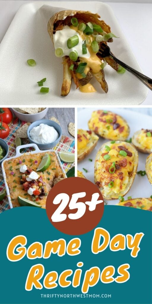 25+ Game Day Recipes for Football Fans – Perfect For Your Party!