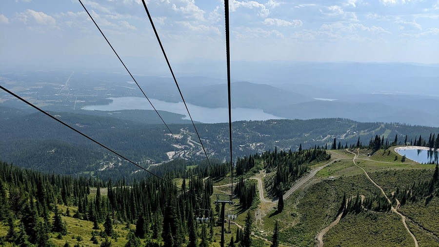 Mountain Bike Trails at Whitefish Mountain