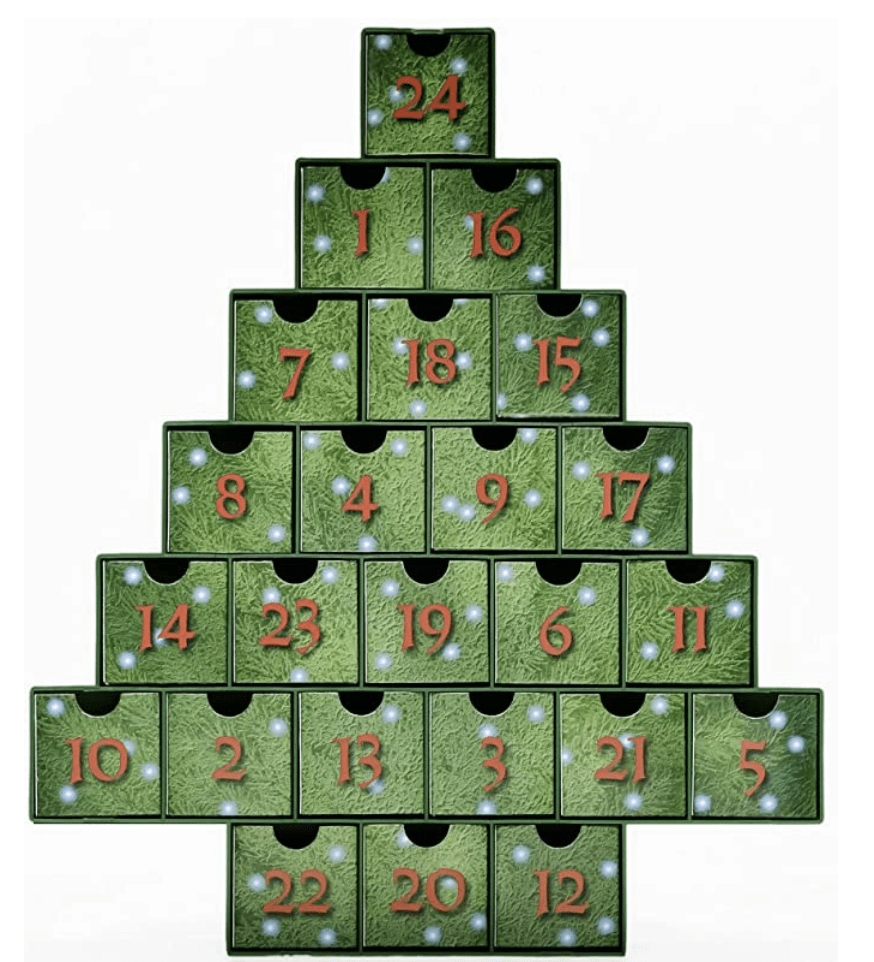 O Christmas Tree Advent Calendar