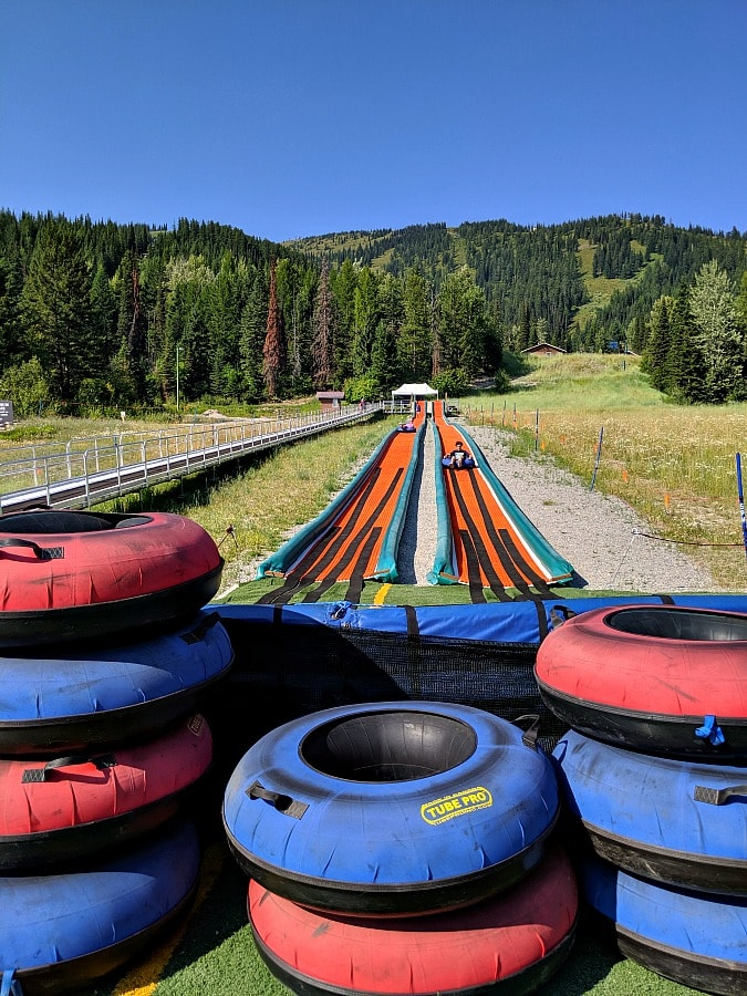 Summer Tubing at Whitefish