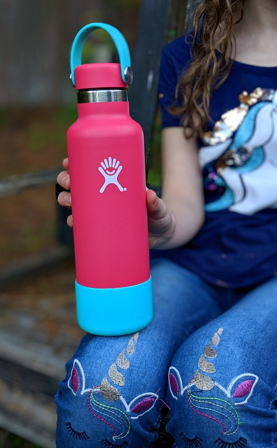 Custom Hydro Flask Water Bottle in Pink
