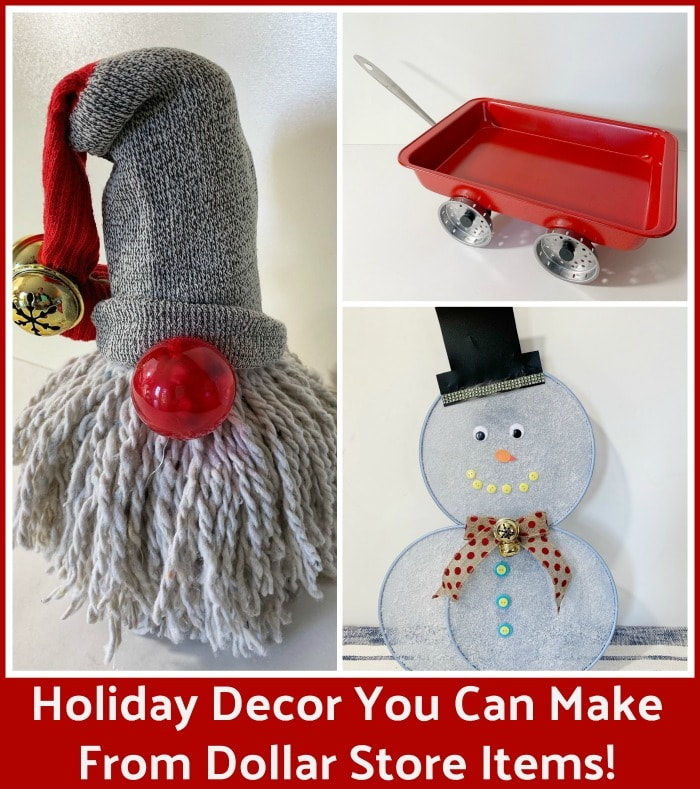 DIY Holiday Decor Items You Can Make With Dollar Store Items