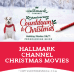 Hallmark Christmas Channel Movie Guide for 2020