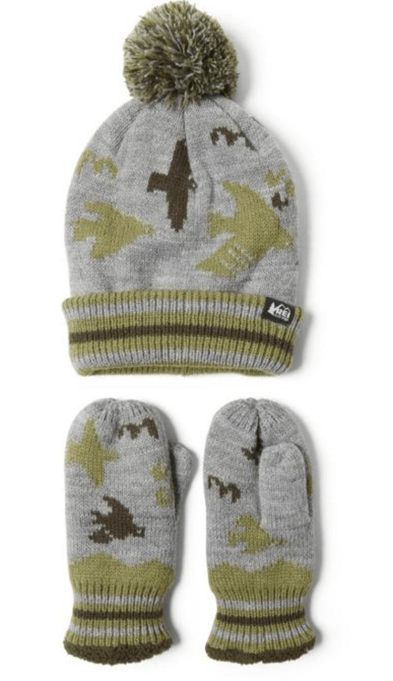 Hat & Mittens Set