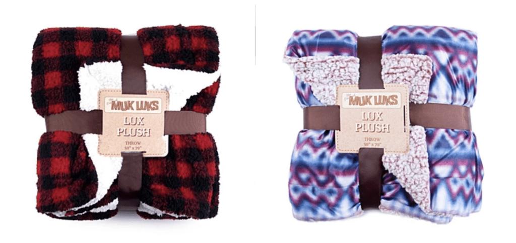 Muk Luks Blankets – On sale for $22.49