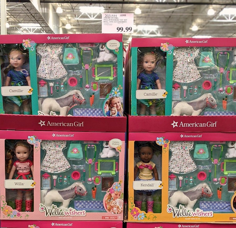Wellie Wishers Dolls at Costco