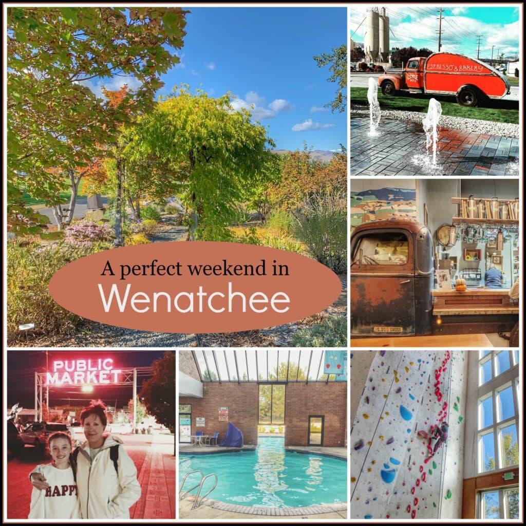 Wenatchee Washington during the Fall