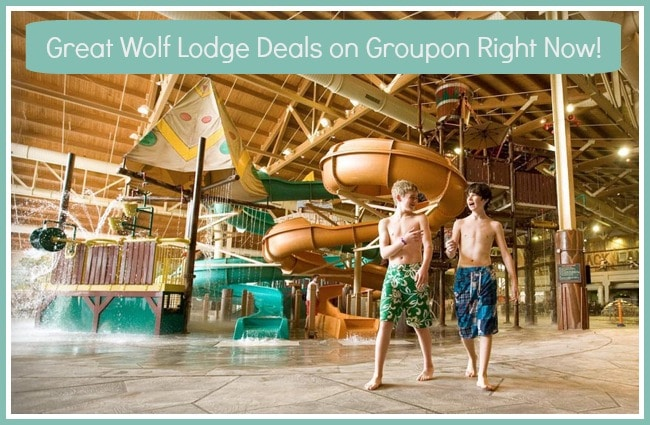 Discounted Great Wolf Lodge Deal on Groupon