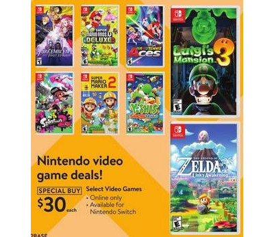 walmart games on sale