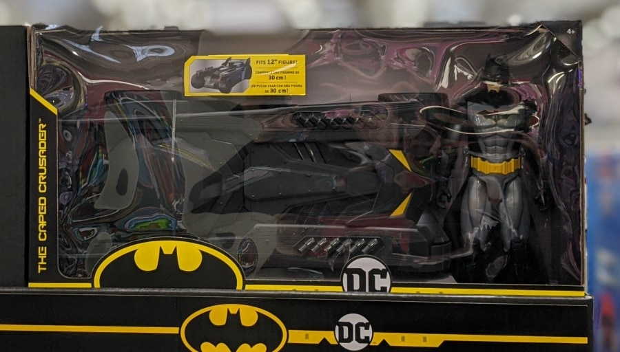 Batman & Batmobile Set