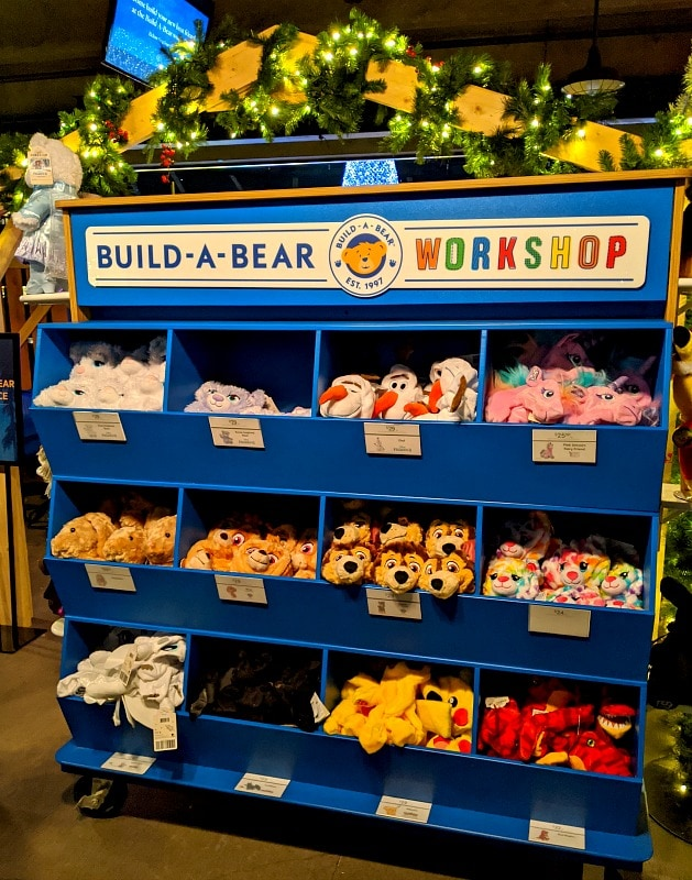 Build a Bear at Enchant Christmas in Seattle