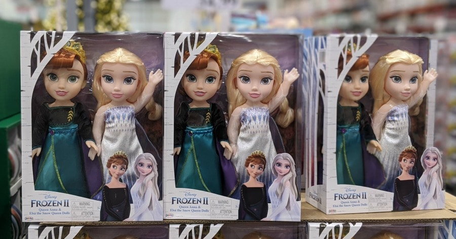Disney Frozen II Dolls at Costco