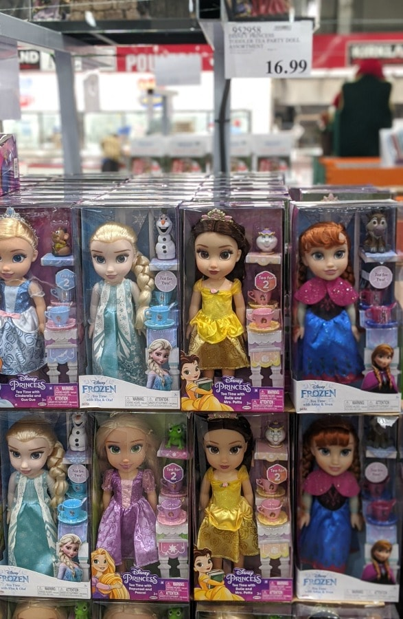 Disney Princess Dolls at Costco