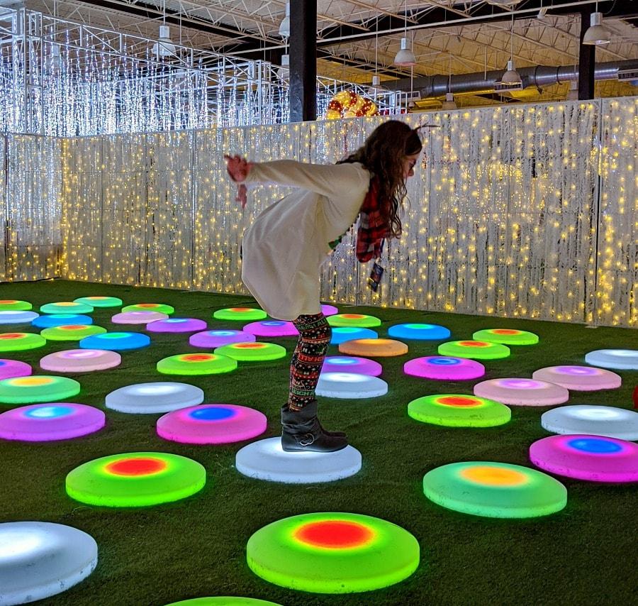 Lumaze Light Display in Seattle