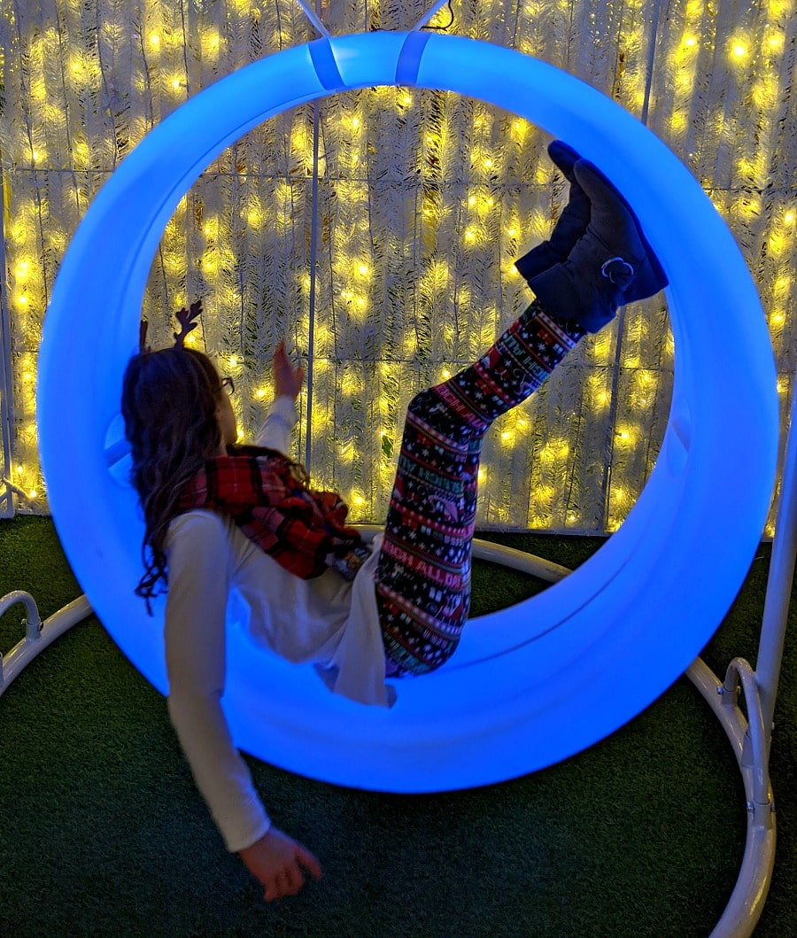 LED Swings at Lumaze