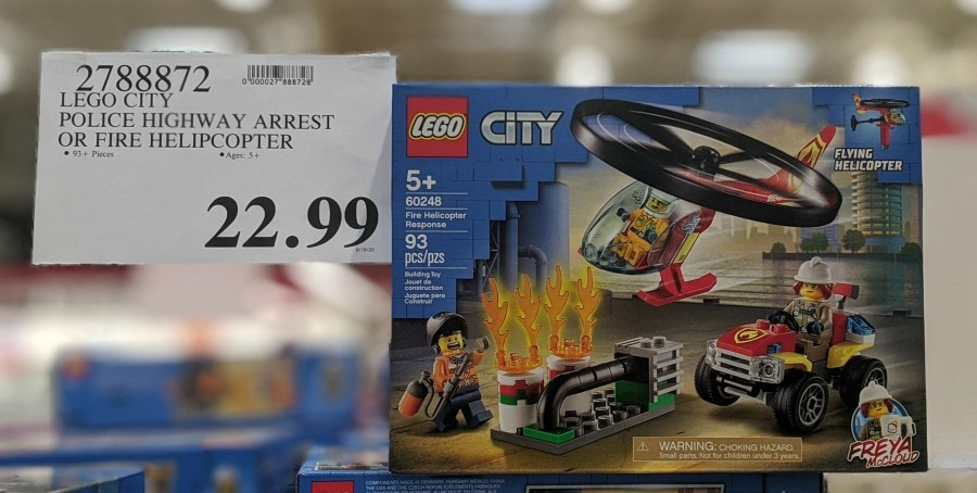 Lego City Fire Helicopter or Police Highway Arrest