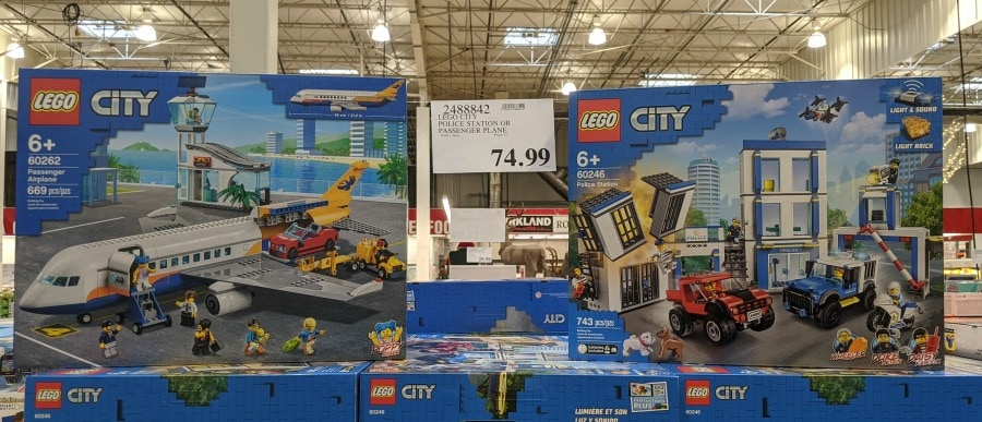 Lego City Sets at Costco