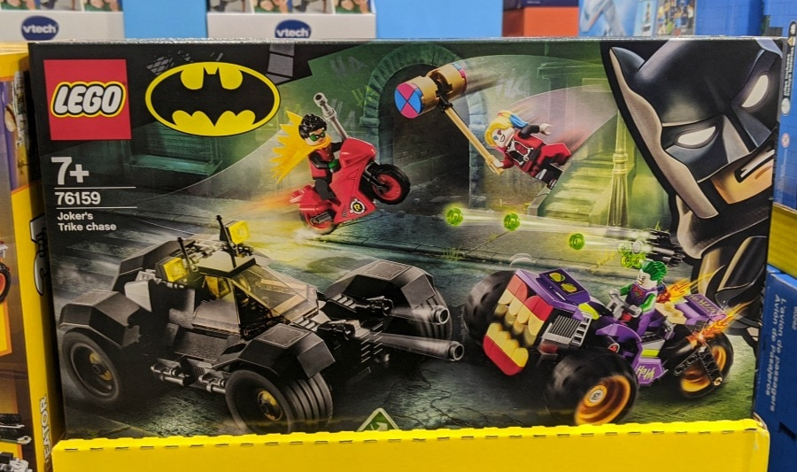 Lego Jokers Trike at Costco