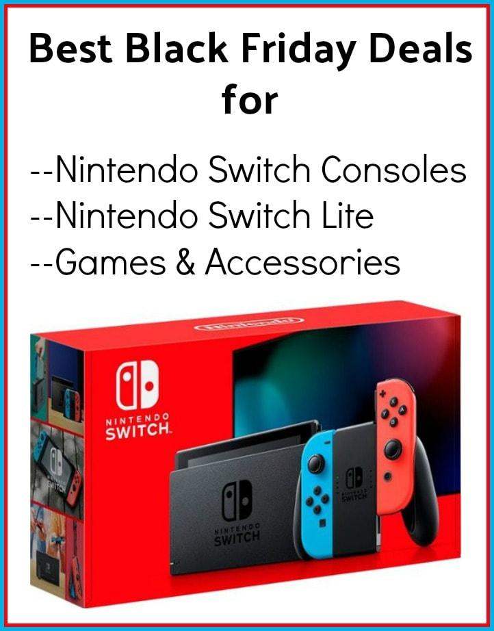 Nintendo Switch Black Friday Deals Bundles Lite Games