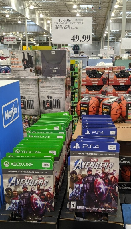 PS4 XBox Avengers Game