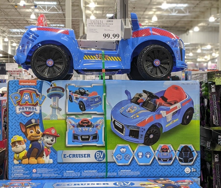 Paw Patrol E Cruiser 6 Volt Ride on Car