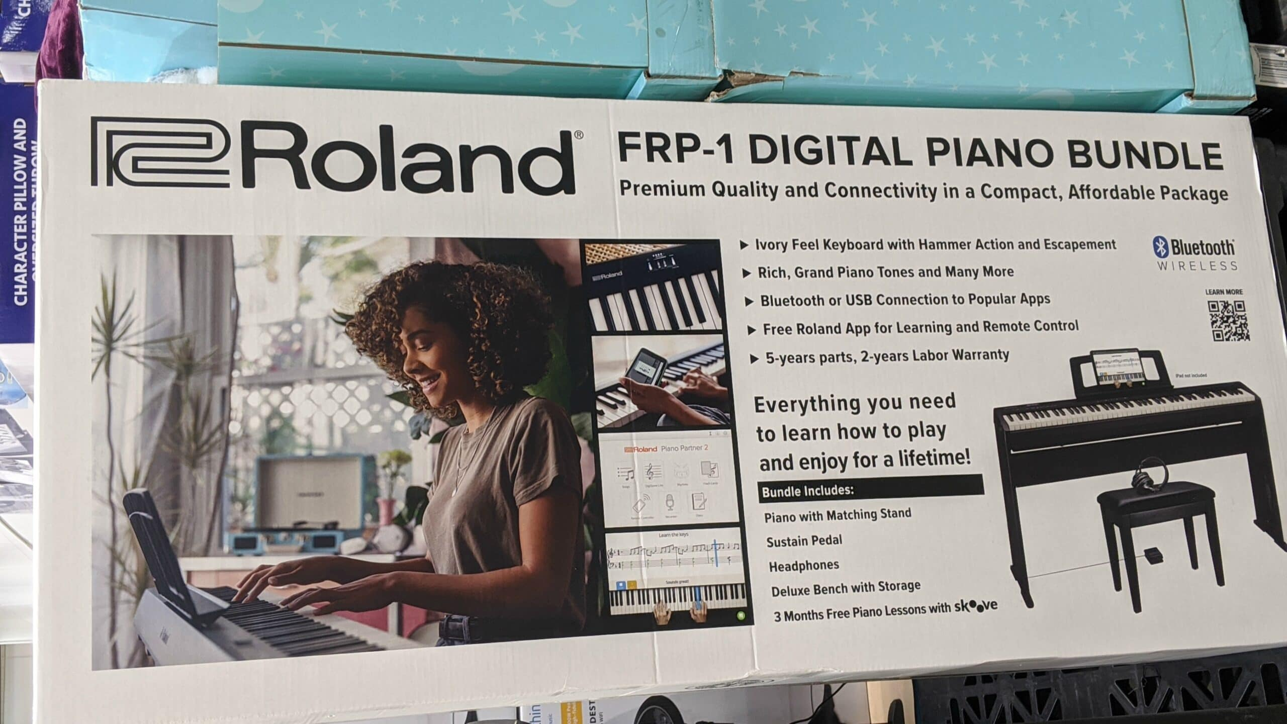 Roland Digital Piano at Costco