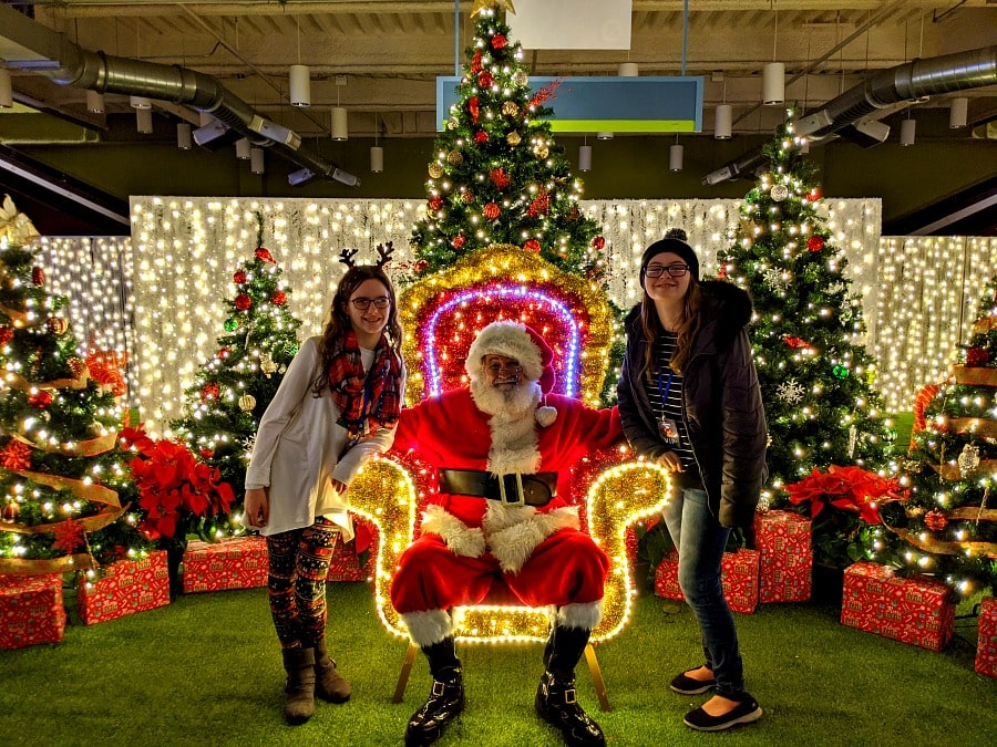 Santa Visit at Lumaze