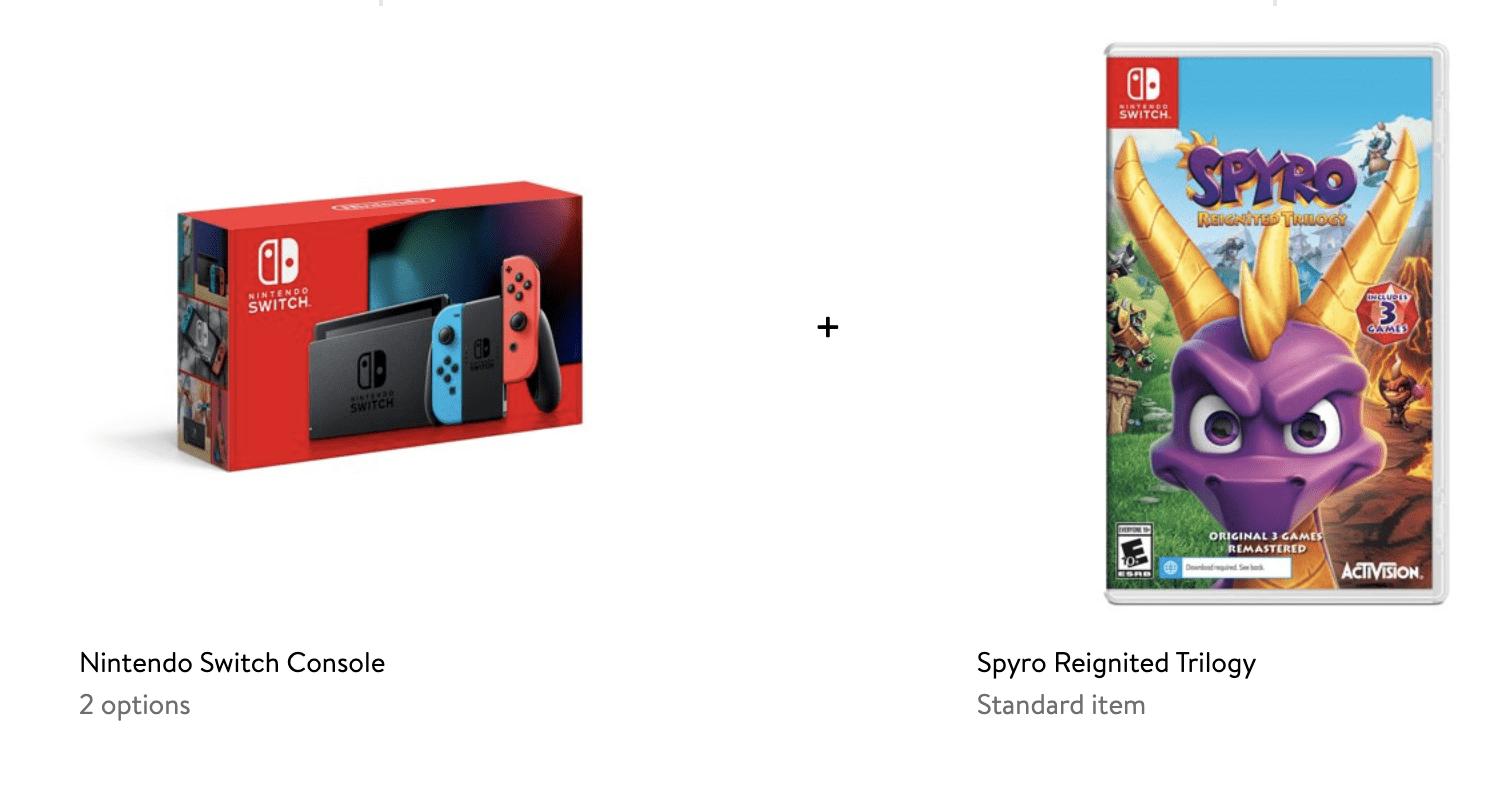 Nintendo Switch deal at Walmart