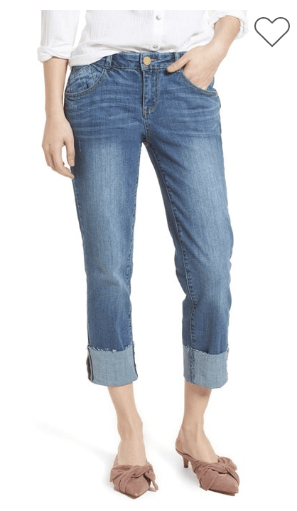 Wit & Wisdom Cuffed Jeans