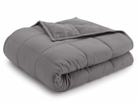 Grey Reversible WEighted Blanket