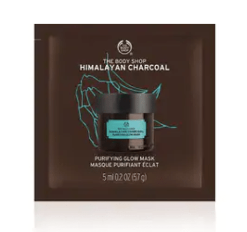 Body Shop Mask Packettes