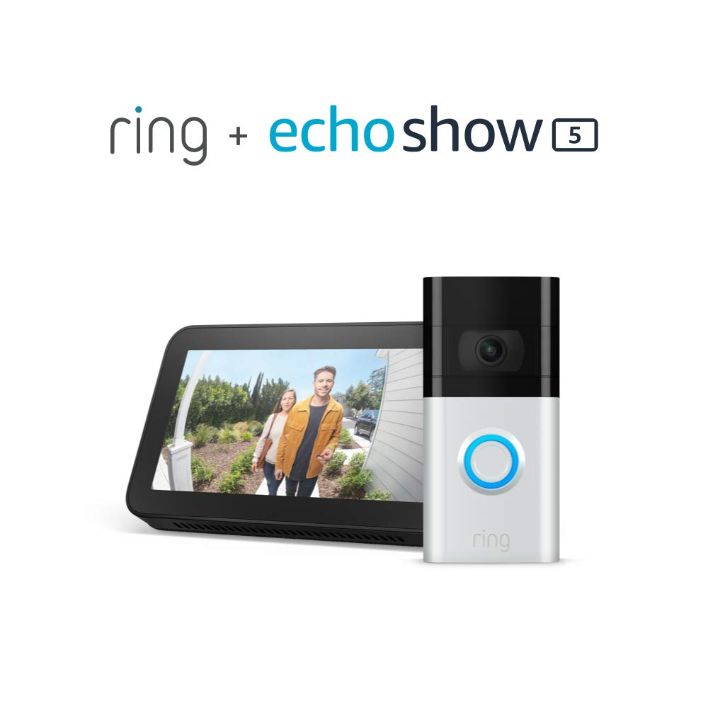Ring Doorbell Deals : Get it with Echo Dot & Echo Show on Sale! Prime Day Deal Live Now!