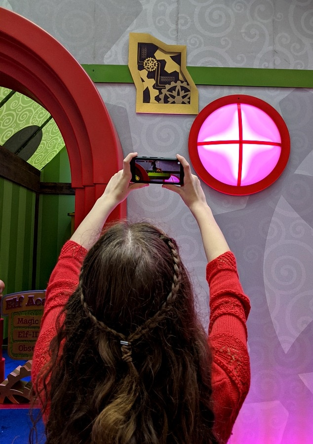 Augmented Reality at Santa HQ