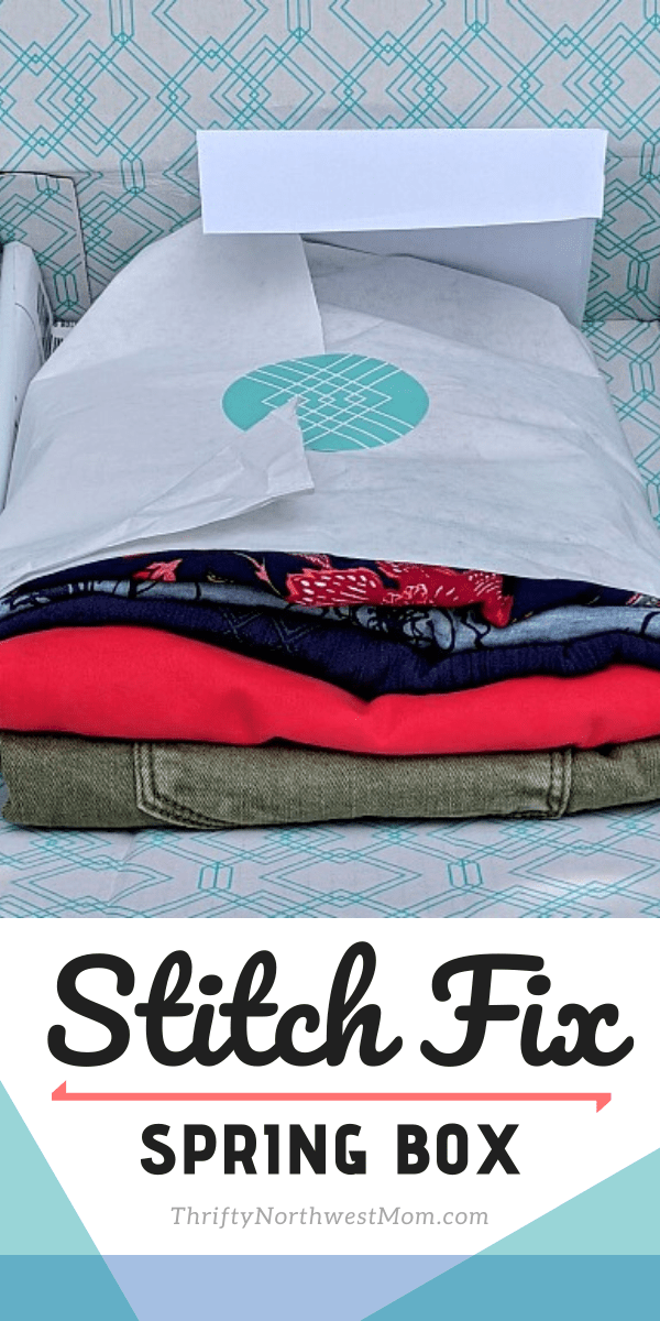 Stitch Fix Spring box 2020