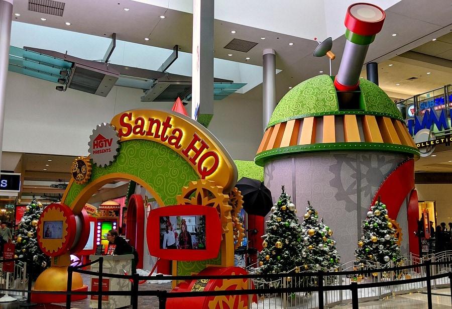 HGTV Santa HQ in Portland OR