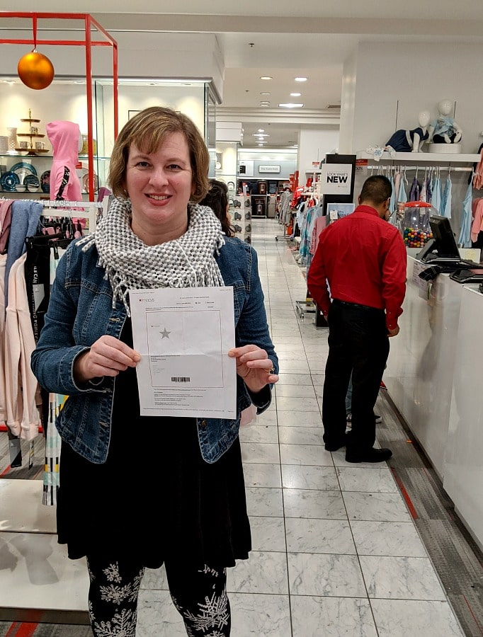 Macys Gift Card to Surprise Family