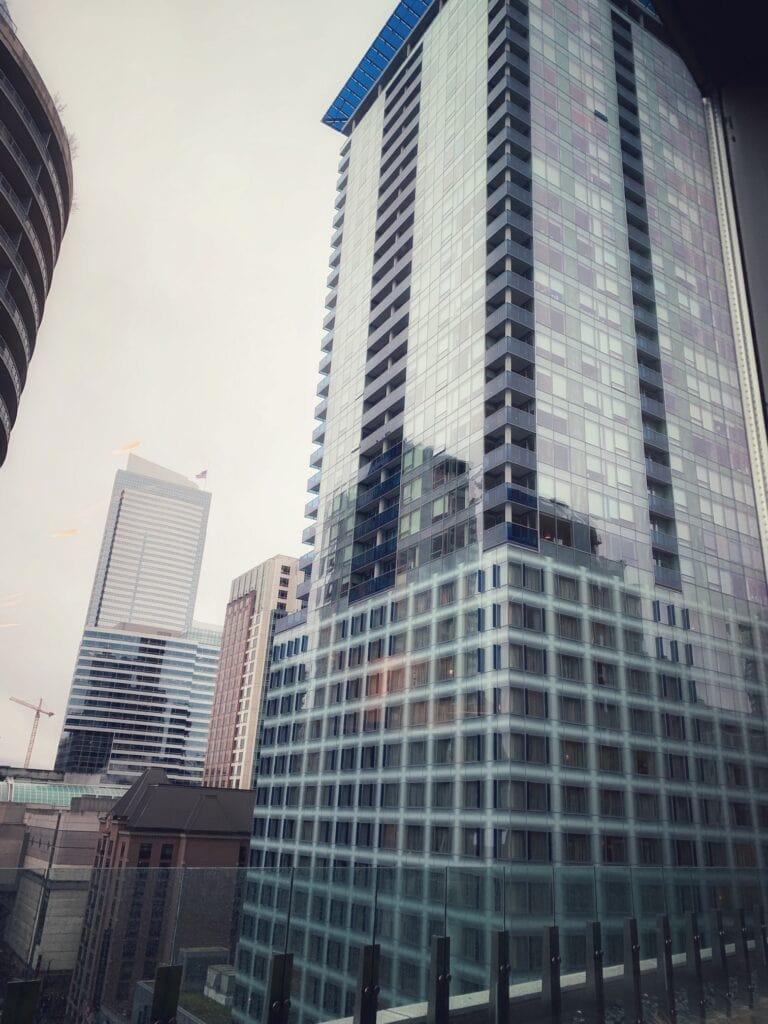 Hyatt Regency downtown Views in Seattle