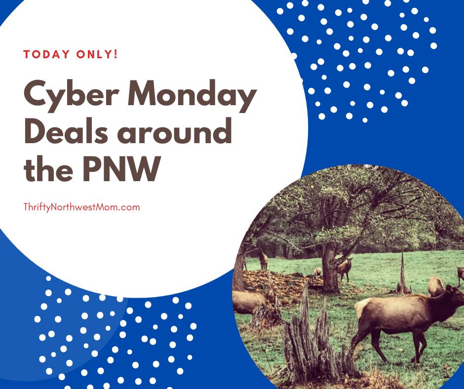 Northwest Cyber Monday Deals – Point Defiance, Northwest Trek, Seabrook & more!