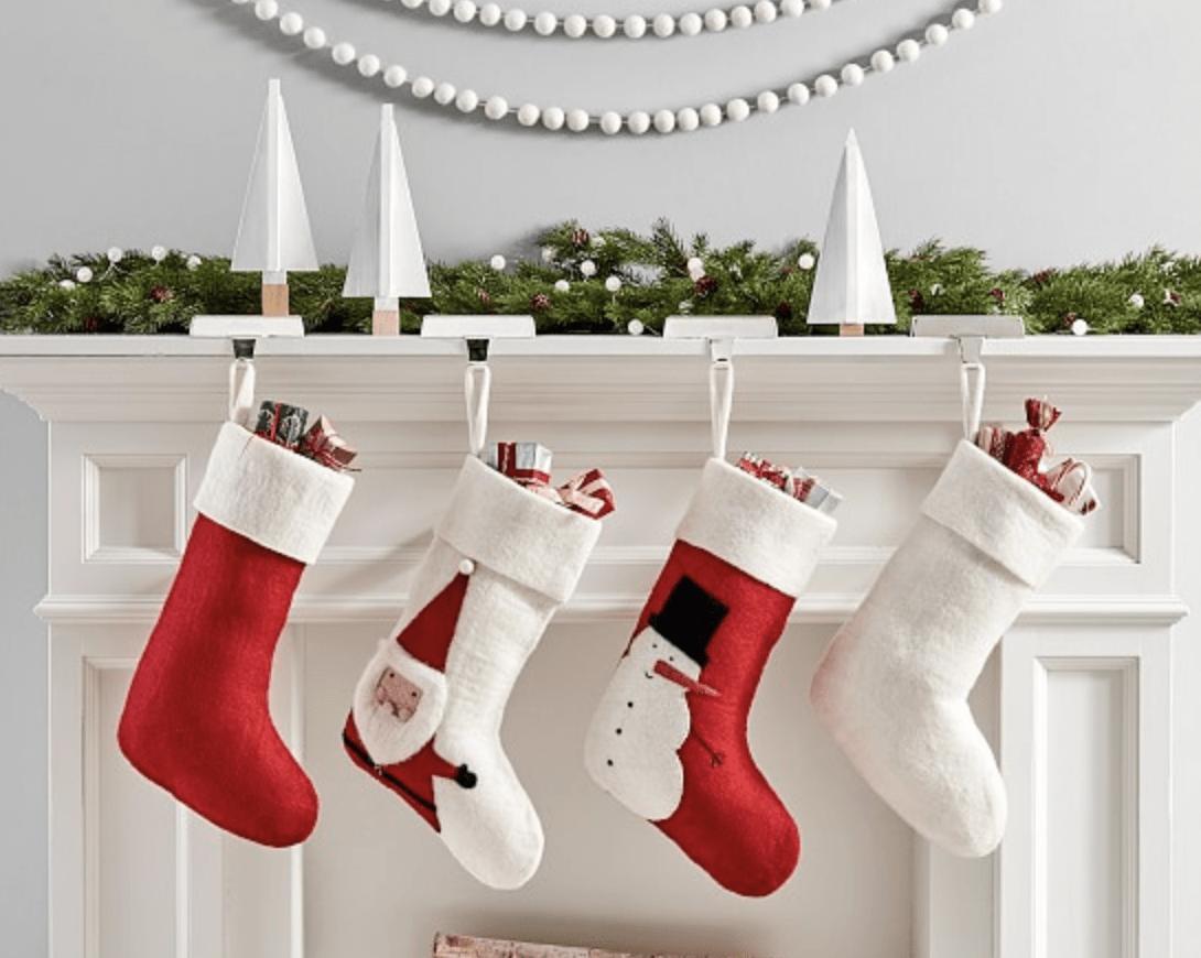 Pottery Barn Modern Stockings