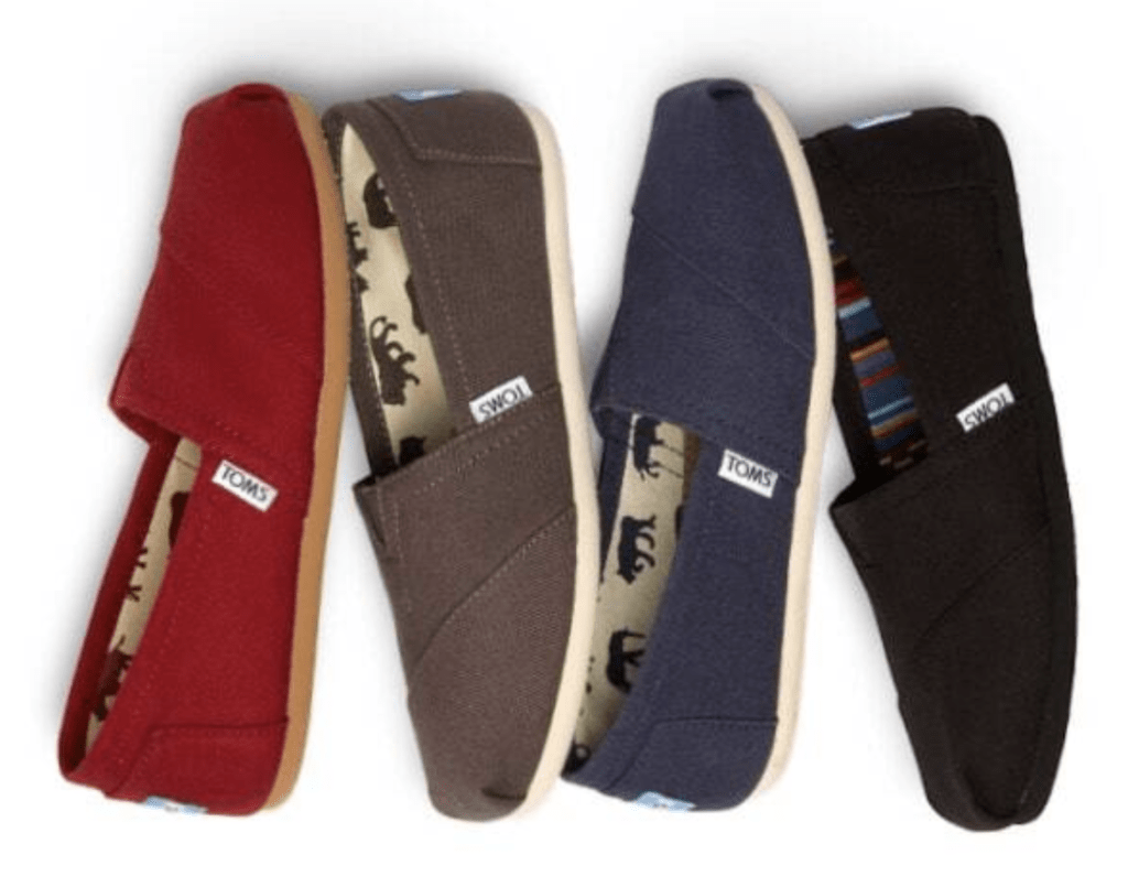 TOMS Shoes Sale – up to 65% off!