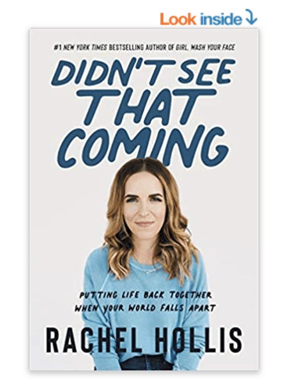 Didn't See that Coming Rachel Hollis book