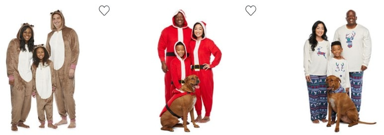 JCPenney Christmas PJ's