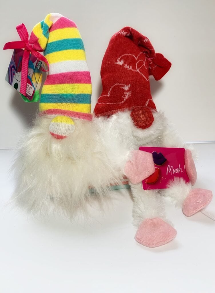 Sock Gnomes for valentines day