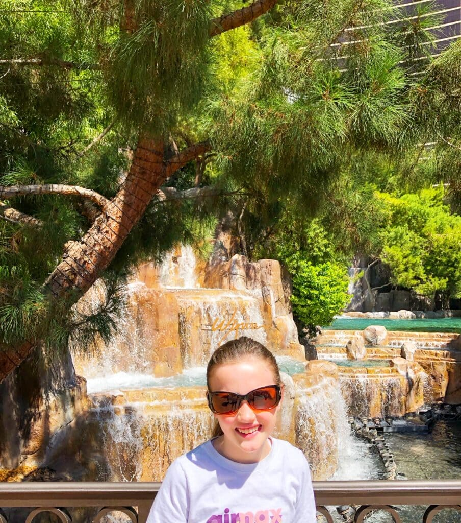 Touring Hotels In Las Vegas - Hotel Fountain